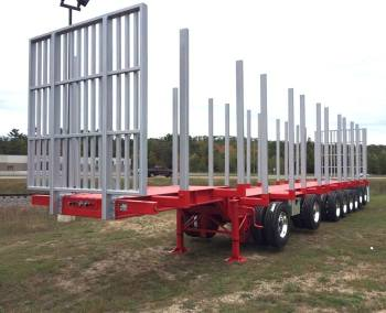 8-Axle Rail Trailer