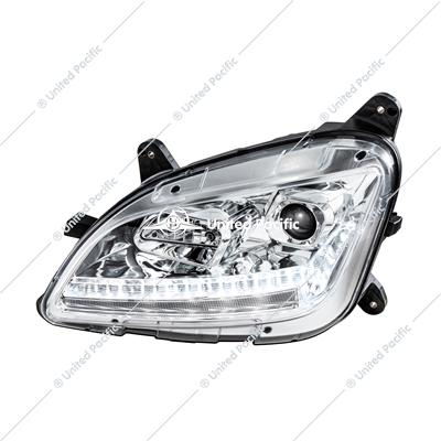 Chrome Projection Headlight With LED Sequential Turn and