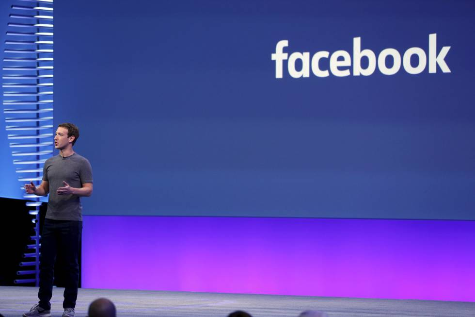 Mark Zuckerberg durante la conferencia F8.