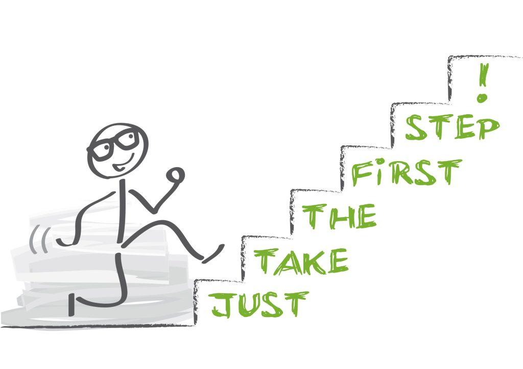 Denk mee? Wat moet je eerste stap zijn?