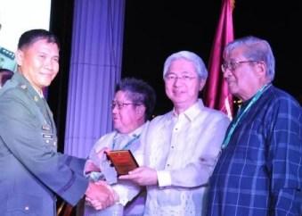 Achievement Award (Col Peale Jon Bondoc)