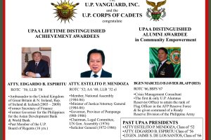 UPAA Lifetime Achievement awardees known
