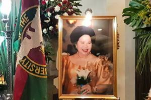 In Memory of Miriam: Senator Miriam Defensor Santiago, UP Corps of Sponsor 1969