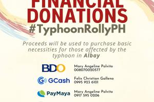 Tabang Ta! Call for financial Donations