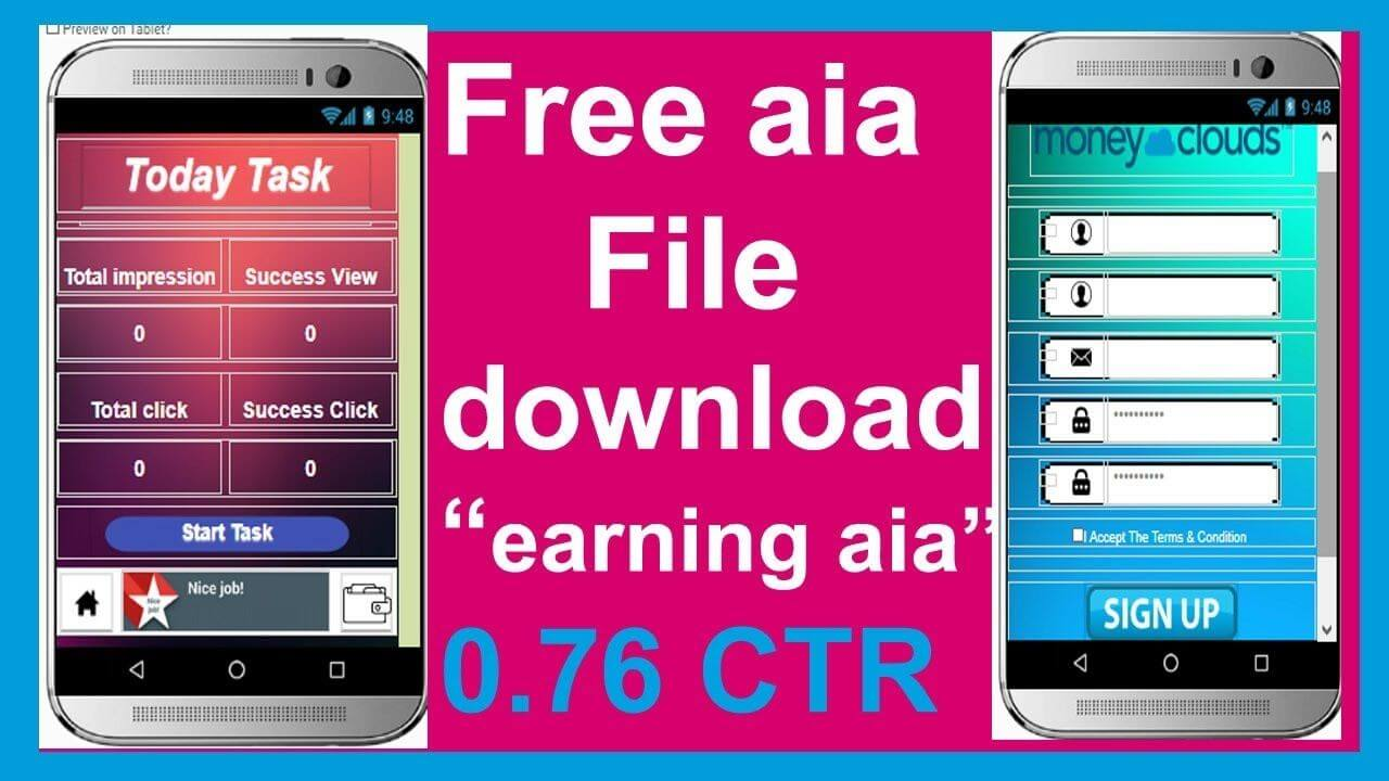 EARNING APP AIA FILE