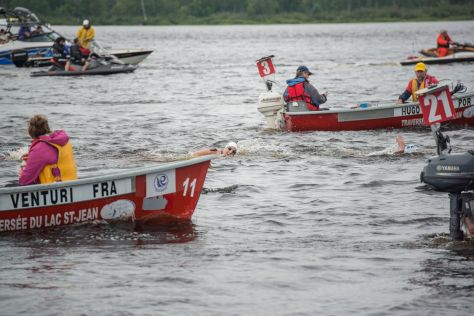 Crédit photo : Traversée internationale du lac St-Jean