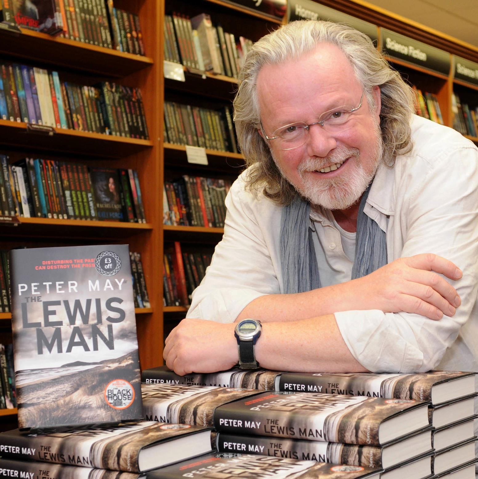 FORM SUCCESS Peter May Scottish Author Of The Lewis Trilogy