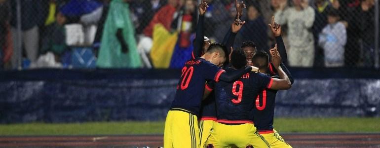 Colombia ante Chile por la clasificación al hexagonal final
