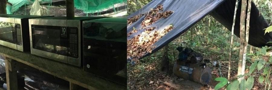 Destruyen en Antioquia «megalaboratorio» de la banda criminal Clan del Golfo