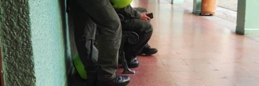 Un hombre atropelló a dos policías en Apartadó y luego capturado