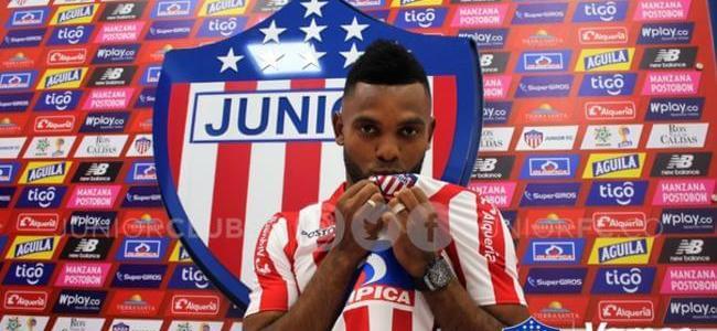 ¡Ya hay goleador! Borja firmó con el Junior de Barranquilla