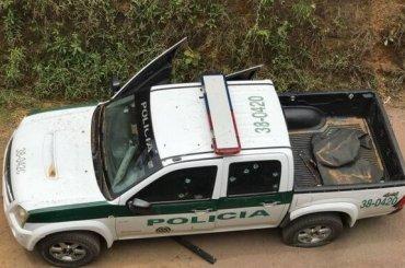 Dos policías heridos dejó ataque contra una patrulla en Turbo.