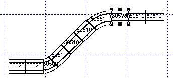 Track layout editor