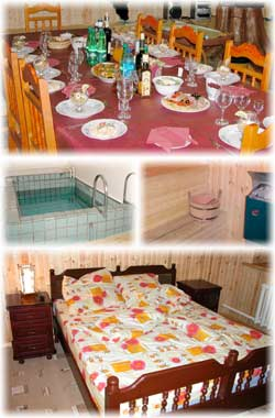 """vailand"" Club, a comfortable accommodation with the best kitchen of the northern Urals"