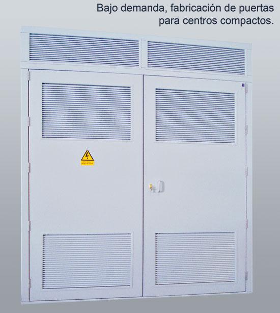 Puertas metalicas para centros de transformacion