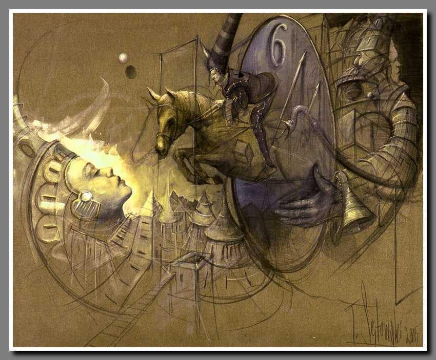 Peinture de Tomek Setowski