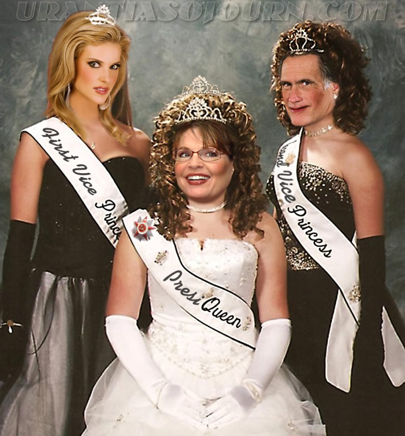 Presi-Queen Palin and her Court