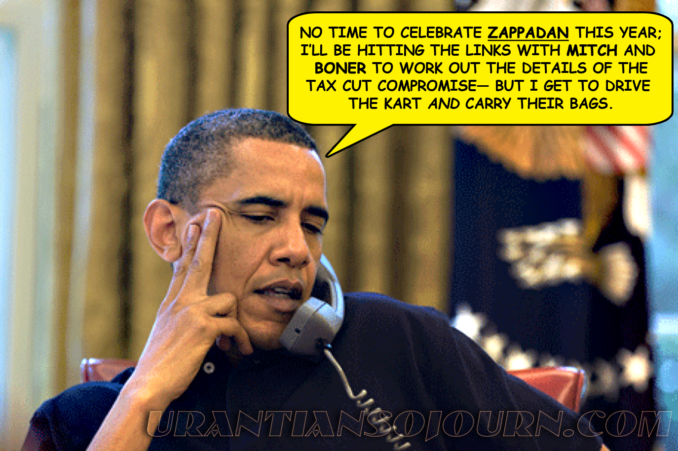 Obama Compromises On ZAPPADAN