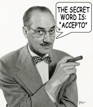 Groucho Got a Secret Word