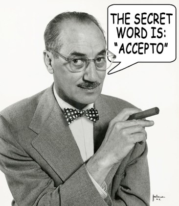 Groucho Got a Secret Word
