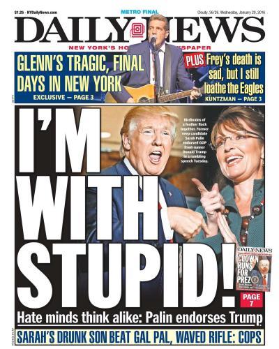 Teh Stupid: Donald Trump Replaces Sarah Palin