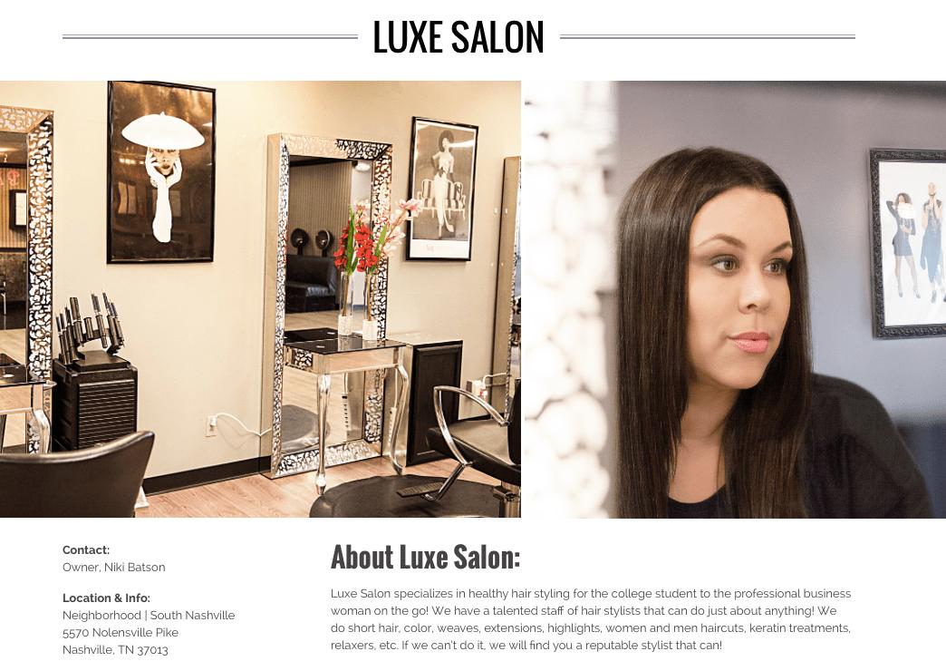 meet luxe salon tn multicultural nashville niki batson