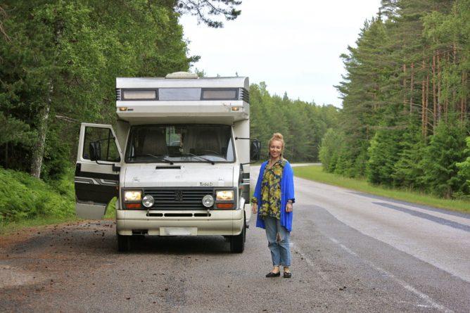 karavaanari matkailuauto