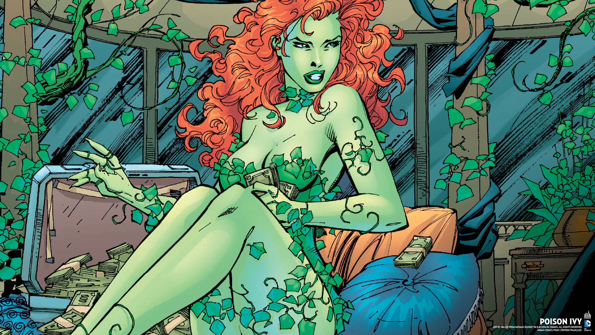 The Joker Animated Wallpaper Wallpapers Poison Ivy Urban Comics