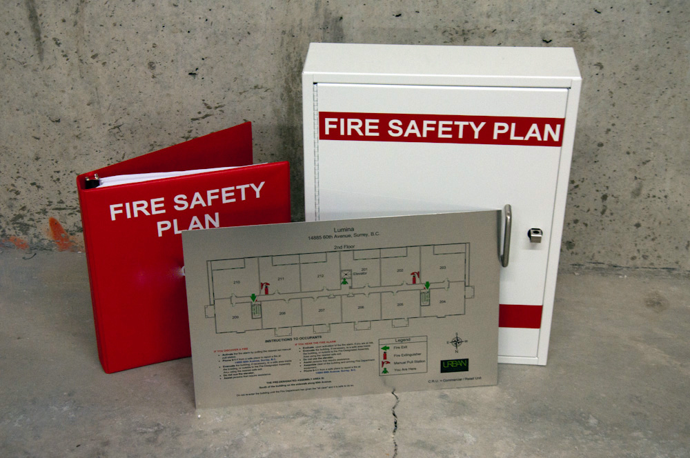 Urban Fire Safety Planning & Signs