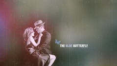 The Blue Butterfly Wallpaper