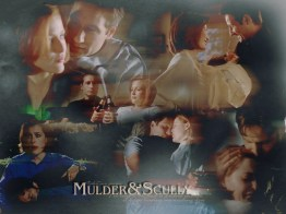 Mulder & Scully Wallpaper