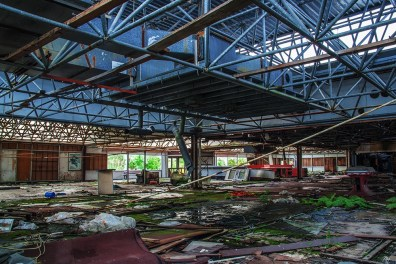 This was once a Food Mall in Plänterwald
