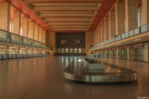 Berlin Tempelhof Airport (22) - departure hall