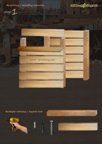 Komposter selbst bauen   Bauanleitung Kompostkasten