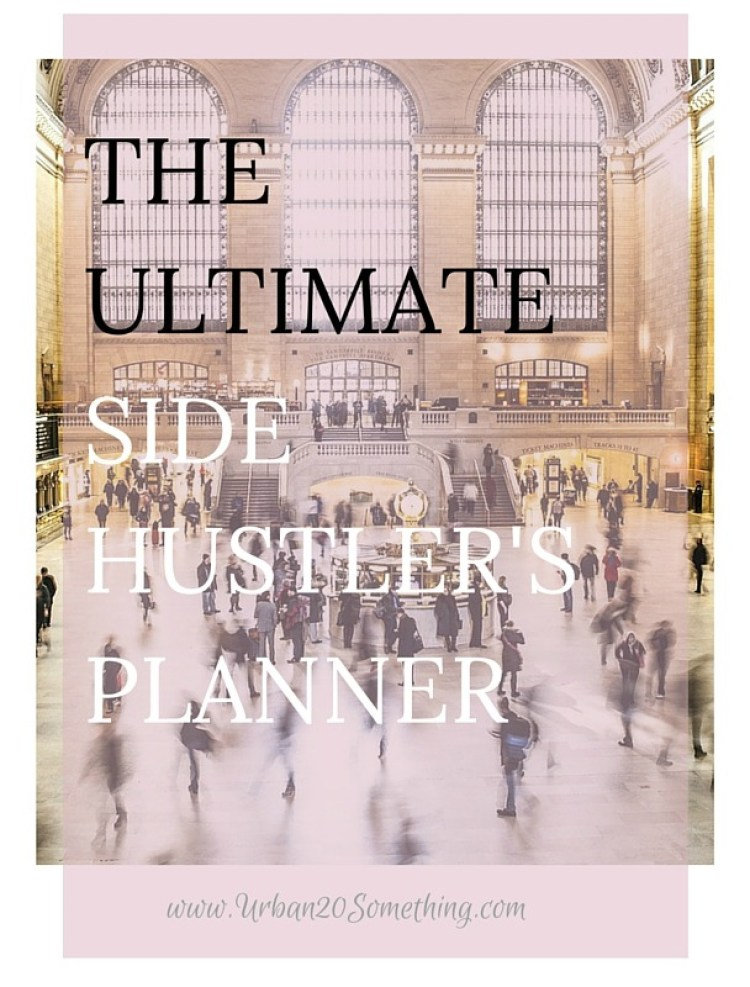 The Perfect Daily Planner for the Side Hustler. If you have a passion, hobby, or side hustle you want to start but are caught up by your day job, this planner will help you organize the time you do have and kill it at both.