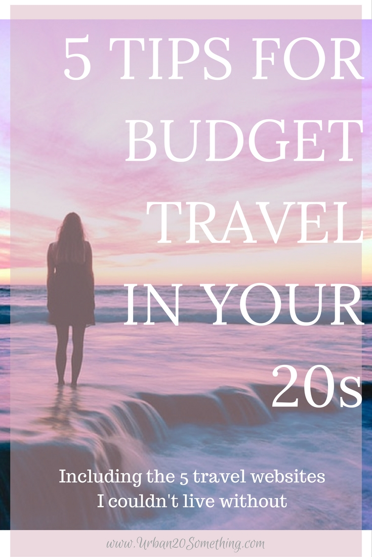 If you're traveling in your 20s (which you should!), you need to incorporate budget travel into your vacation. It'll make your vacation so much more affordable and less stressful. These are my favorite tips on how to do it! Plus, the guide to how to use my five travel websites for budget travel.