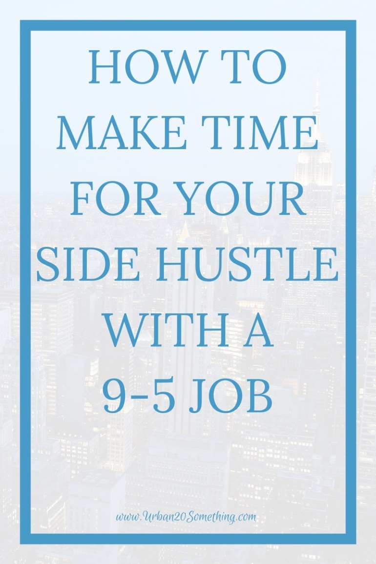We should all have a side hustle, yet none of us seem to have the time. Click through to learn strategies to make time for your side hustle, even with your 9-5 job. Planner included!