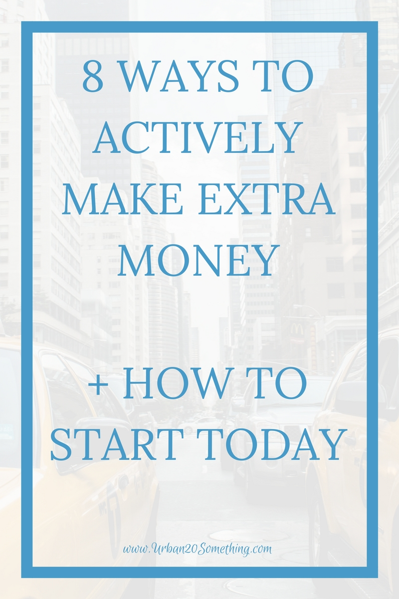 Do you want to make money outside of your day job? You can and you should! Here are ways to actively make side income you can start now.