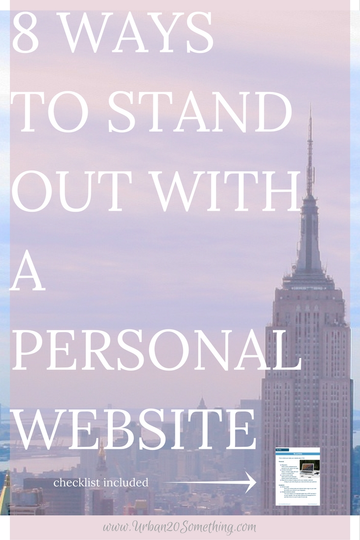 This list of personal website uses only scratches the surface of the power and potential they have. Click through to learn how they can make you stand out and get your free checklist to make sure you're not missing anything on your site!