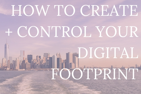 It's no secret that these days, everything we do is tracked online. It's definitely a little scary, there's no denying it. But, there are ways we can clean up our digital footprint AND create a footprint that helps us get jobs, network, and make a name for ourselves. Here's your lowdown on cleaning + creating your digital footprint, complete with cleansing checklist.