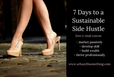 Take my free side hustle challenge that will have you up and running in 7 days!