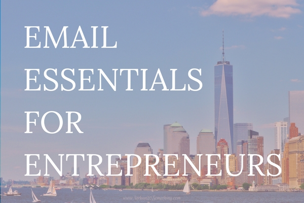 Email is an amazing power tool for entrepreneurs, side hustlers, and business owners, but it's so often overlooked. Up your email game with these simple hacks and you'll be amazed at the increased growth and professionalism of your hustle.