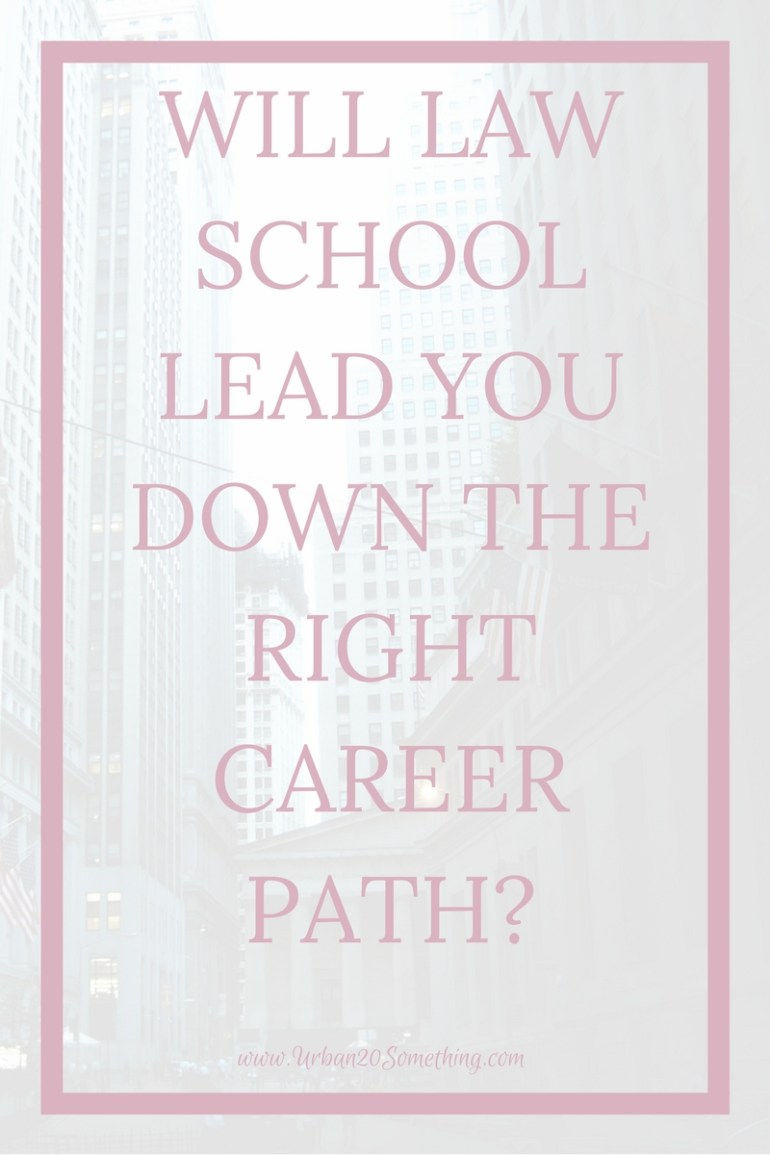 Law school is a common goal for many driven young professionals. Will it lead you down the right career path? Click through for tactics on fighting fear, inertia and stagnation in your career decisions from a lawyer.