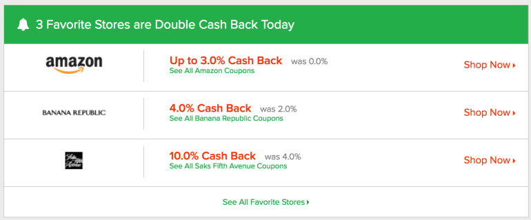 Ebates has transformed my online shopping experience. Here's how I use their Favorites page to shop smarter.