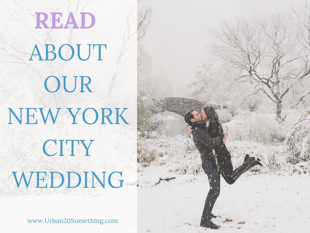 Read about our New York City wedding!
