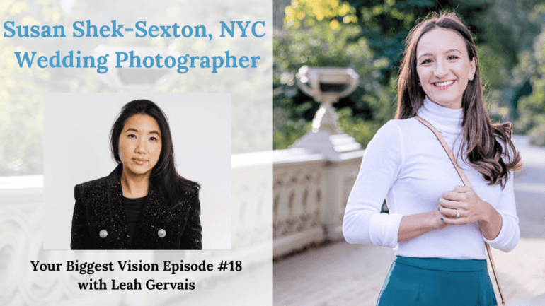 Susan Shek is a top wedding photographer in New York City. From her stunning images to her attention to detail, she built a six-figure photography business.
