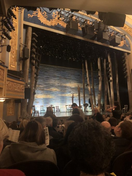 The opening of the Broadway show, Come From Away!