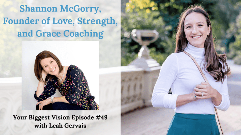 Tune in to this weeks episode with Shannon McGorry to hear her empowering story of finding strength, power, grace and love after facing adversity.
