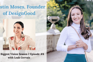 Tune in to hear Kristin Moses, founder and creative director of DesignGood, share her entrepreneurial journey and how she keeps aligned with her vision.