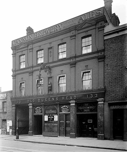The Old Queens Head 133 Stockwell Road Stockwell